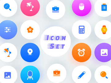 Icon set preview picture