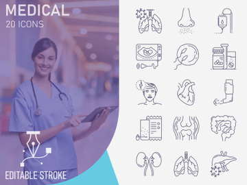 Outline : Medical And Heathcare preview picture