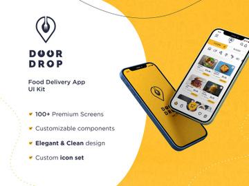 Door Drop - Sketch UI Kit preview picture