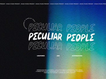 Peculiar People - Psychedelic preview picture