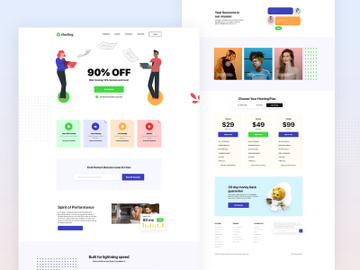 Hosting Web Landing Page preview picture