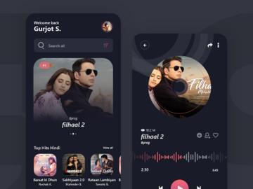 Musicli App Design preview picture