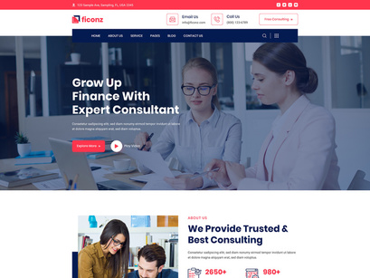 Business Consultancy Agency web design