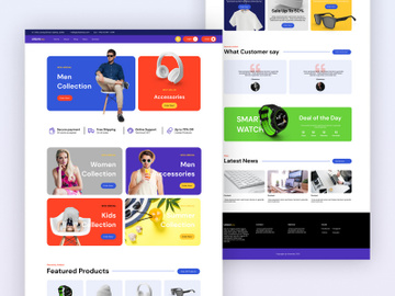 Urbanisty - A Multipurpose eCommerce Web Template preview picture