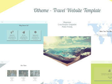 Otheme - Travel Website Template preview picture