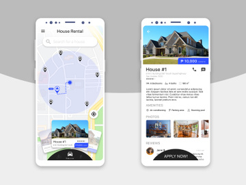 House Rental App Concept preview picture