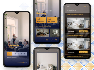 Tarry   Apartment Rentals App - XD preview picture