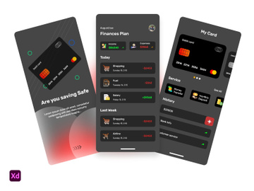 Finance Banking App Design preview picture