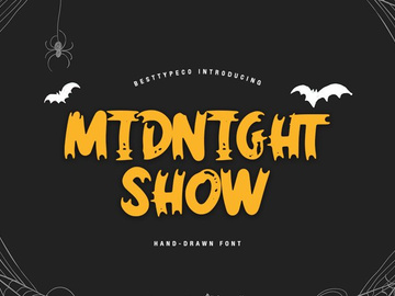 Midnight Show - Free Font preview picture