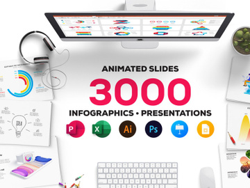 [Free Sample]  Massive Animated Powerpoint Bundle preview picture
