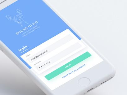 Bucks UI Kit + React Native Theme