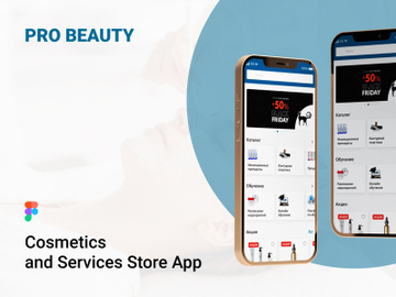 Mobile Application Pro Beauty Ui Kit Figma And Photoshop preview picture