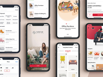Furniture Design UI Kit preview picture