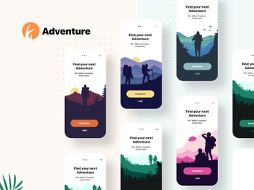 Adventure Web & Onboarding Screen preview picture