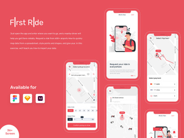 Ride Sharing App preview picture