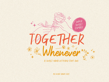 Together Whenever Font Duo preview picture