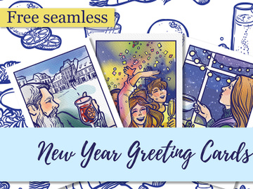 New Year Free Pattern preview picture