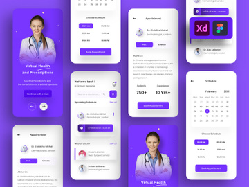 Medical App Design preview picture