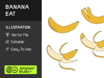 Peeled of Banana Vector Bundle preview picture