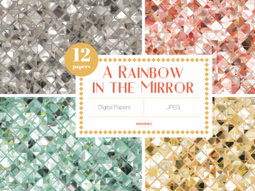 A Rainbow In The Mirror Digital Papers preview picture