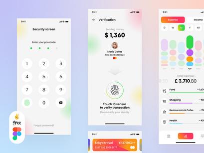 Banking App Mobile UI