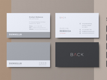 Minimalist Business Card Vol. 04 preview picture