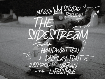 The Sidestream - Handwritten Display preview picture