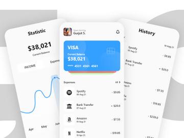 Wallet App Design preview picture