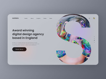 Branding Agency Web Landing Page preview picture
