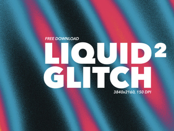 20 Liquid Glitch Backgrounds #2 preview picture