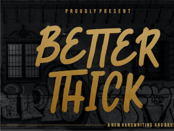 Better Thick preview picture