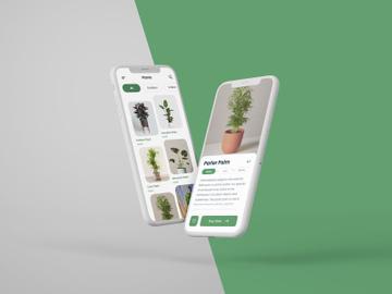 Plant App UI Kit preview picture