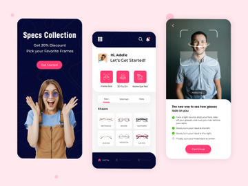 AI-Based Online Specs Mobile App preview picture
