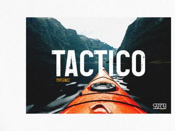 Tactico Sans Serif Font preview picture