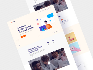Netro - Creative Agency Landing Pages preview picture