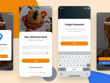 Food application, Sign in / Sign Up preview picture