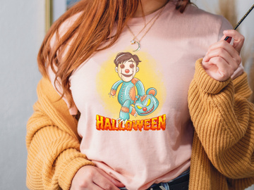 Halloween PNG, kids halloween PNG, Halloween Sublimation preview picture