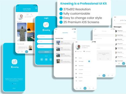 Travel mobile app Ui kit