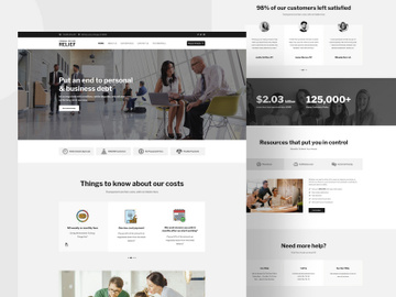 Attorney & Law Firm Elementor preview picture