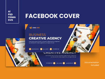 Facebook Cover Template preview picture
