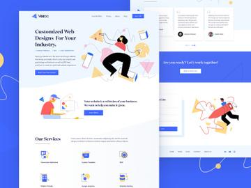 Vozac Website Designs Customized - Sketch preview picture