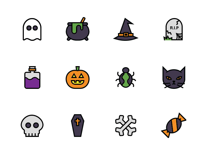 Halloween Icons preview picture