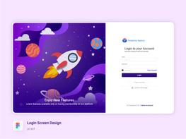 Login Screen Design preview picture