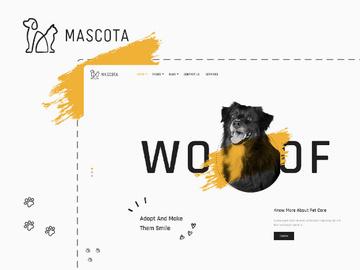 Mascota | WordPress Theme For Petcare preview picture