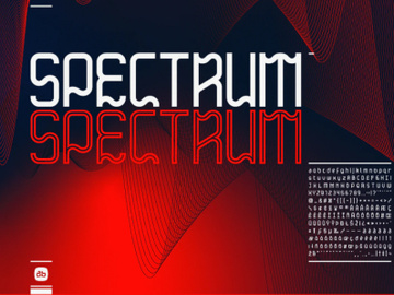 Spectrum Free Display Font preview picture