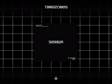 TimeZones Website - Square Animation + Freebie preview picture