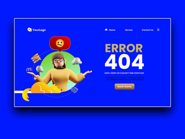 404 Page preview picture