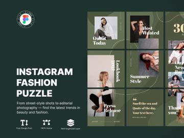 Instagram Fashion Puzzle preview picture