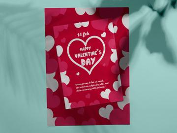 Valentine Flyer Design preview picture