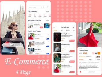 Fashion E-commerce Mobile Apps preview picture